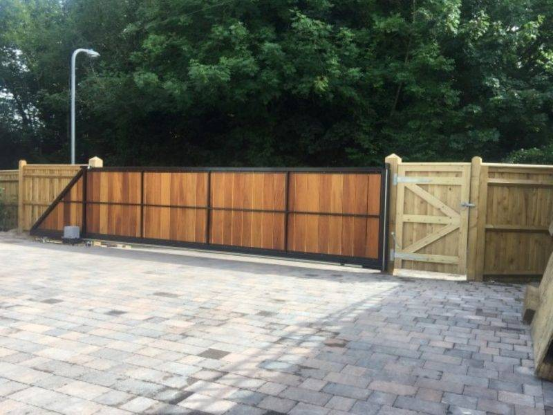 Wooden Electric Gates Sussex