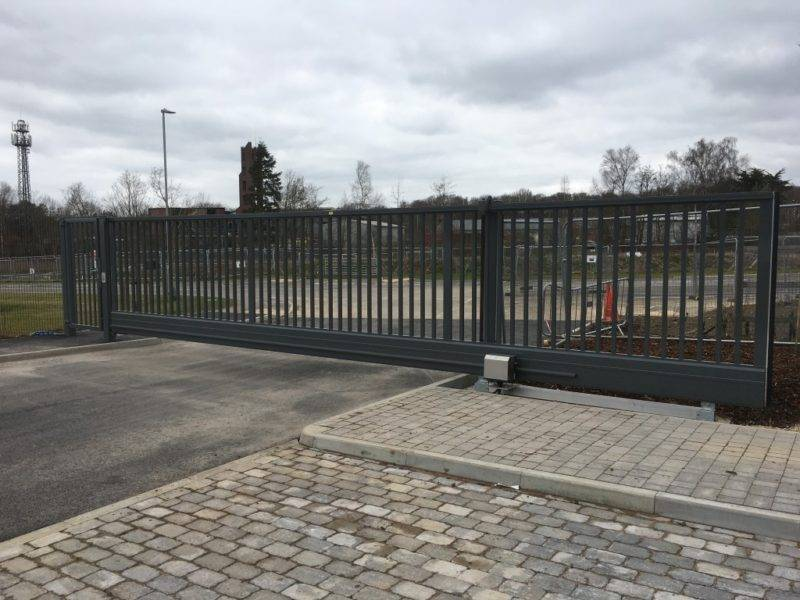 Metal Business Park Automatic Gates East Sussex