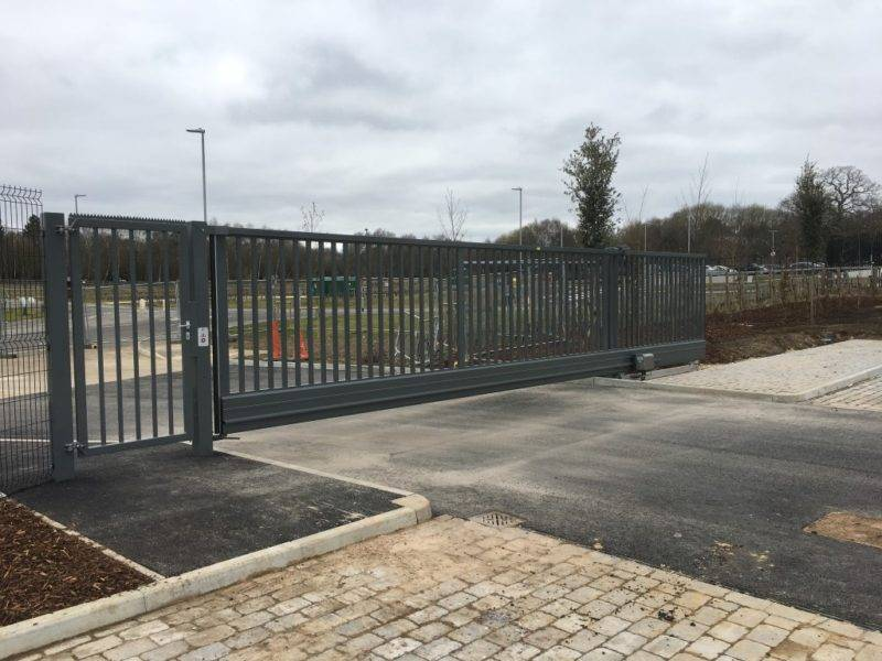 Metal Commercial Automatic Gates Uckfield