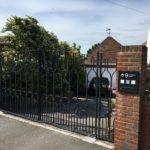 Metal gates in Uckfield