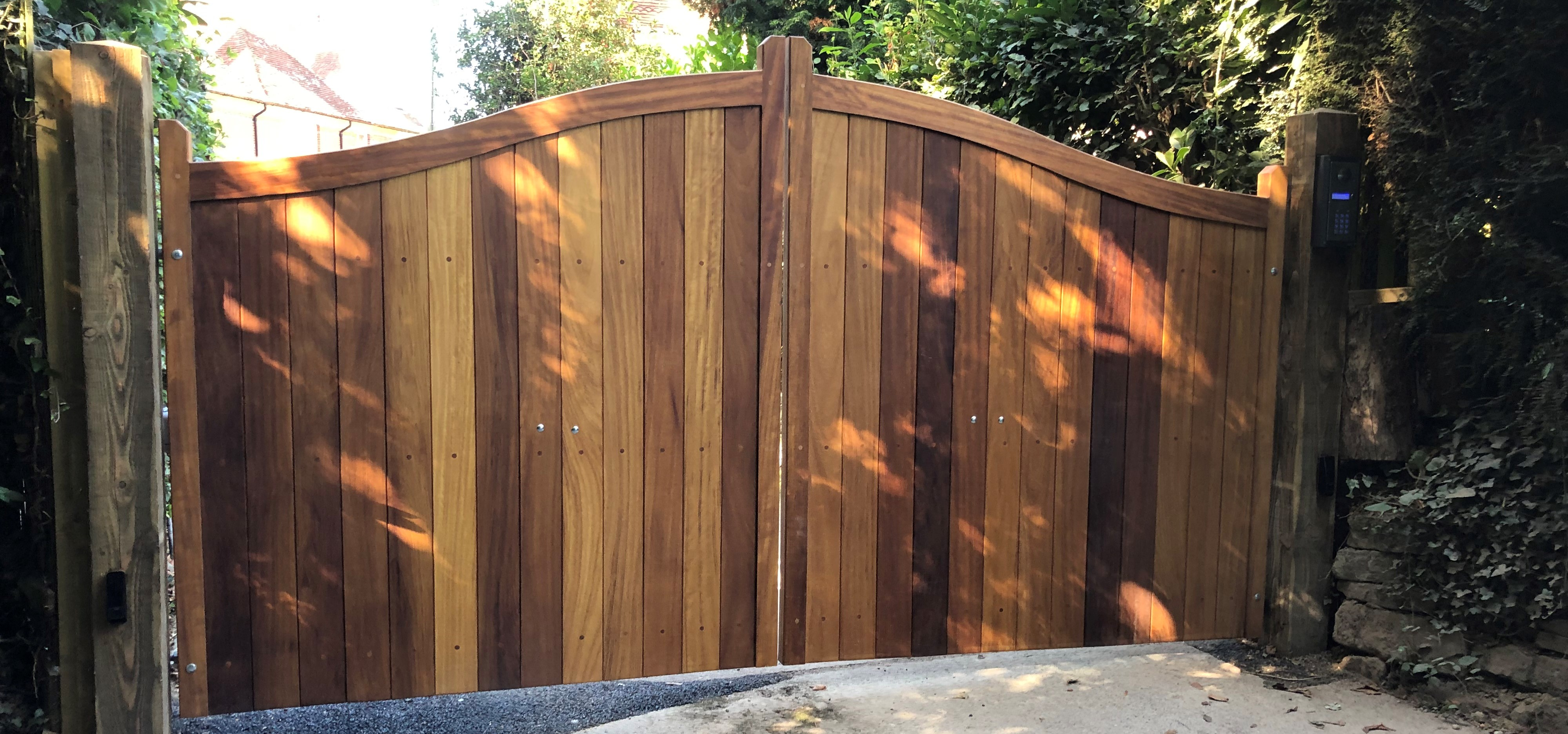 New Electric Gates For the Old Rectory